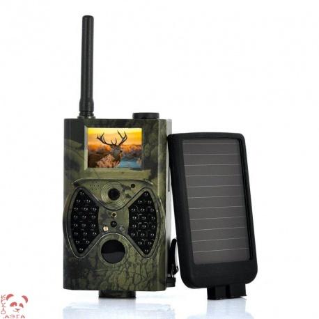 Фотоловушка с солнечной панелью 1440x1080, GSM
