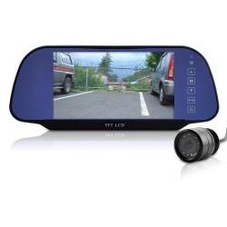 """Монитор в зеркале 7"""" HD с AV in и камера парковки"""