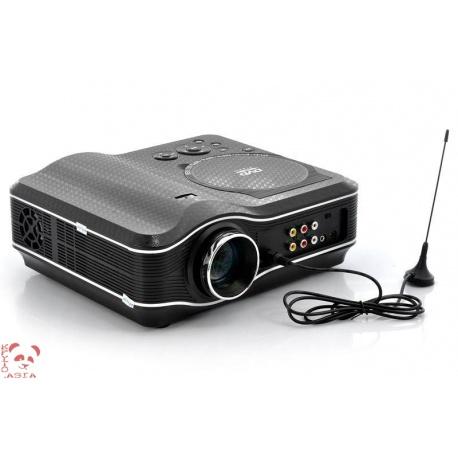 LED проектор встроенный DVD плеер, USB, TV, AV