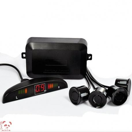 Парковочные датчики x4 с монитором расстояния