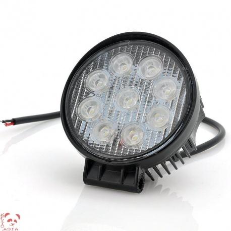 Автомобильный прожектор 27Вт, 1440лм, IP65