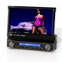 Магнитола 1DIN медиаплеер 7' bluetooth, GPS, DVB-T