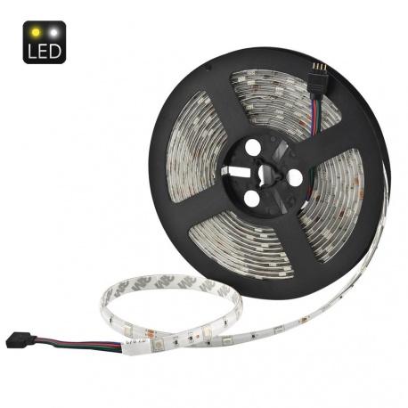 Гибкий RGB светодиодный шнур 5м 36Вт с пультом ДУ