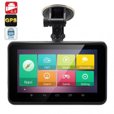 GPS навигатор / планшет 7' Андроид 4.4 с видеорегистратором, FM, Wi-Fi
