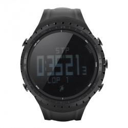 Спортивные часы Sunroad FR801 шагомер, счётчик калорий, термометр, барометр, высотомер, компас чёрные