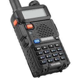 Рация Baofeng UV-5R 5-10км VHF/UHF/FM, 136-174 МГц / 400-480 МГц