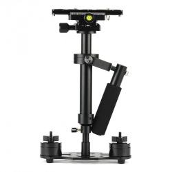 Ручной стабилизатор камеры S40, спиртовой уровень, счётчик массы, длина 23 ~ 40 см