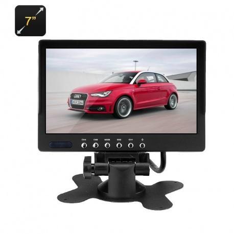 ЖК монитор в авто 7', 2x AV входа, 800x480
