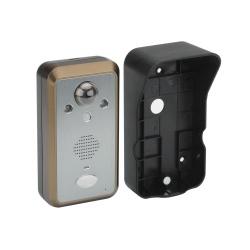 Видеодомофон с б/п монитором 3.5', датчик движения до 3м, ночной режим