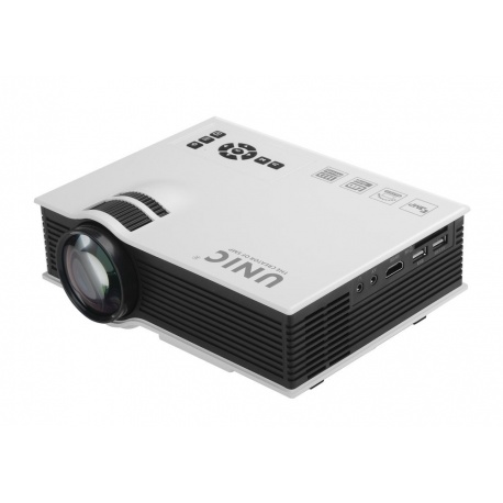 Портативный ЖК проектор 800 люмен, 800:1, HDMI, USB, SD, AV
