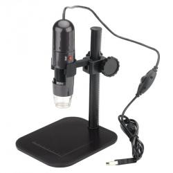 Цифровой USB микроскоп со штативом 1.3Мп CMOS x1000