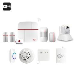 Охранная система Vcare для дома или дачи GSM/Wi-Fi, наблюдение через приложение для смартфонов
