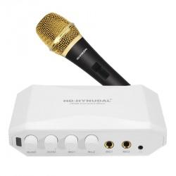 Караоке микшер HD-Hyundal с микрофоном