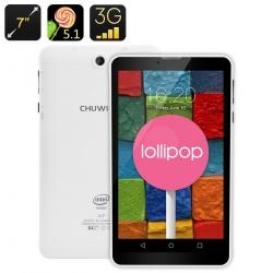 Планшет Chuwi Vi7, 7' IPS экран, Андроид 5.1, GPS, QuadCore, 2500мАч батарея