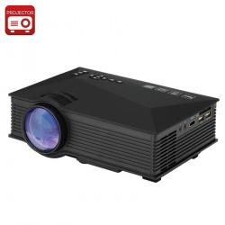 Портативный ЖК проектор UNIC UC46, 800x480, 800:1, HDMI, SD, Miracast, DLNA, Airplay