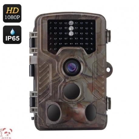 Фотоловушка 1080p, датчик движения, ночной режим, триггер 0.6 сек, до полугода режим ожидания