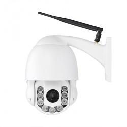 Внешняя IP-камера с PTZ, 1/3 CMOS, до 60м ночью, 4x zoom, ONVIF 2.0