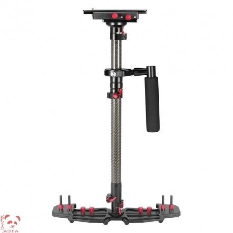 Ручной стабилизатор камеры HD2000, длина 53 ~ 78 см, противовесы 5 ~ 8 кг