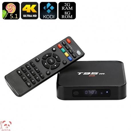 ТВ-приставка T95m Андроид 5.1, Wi-Fi, 2Гб/8Гб, HDMI, Kodi 16.0
