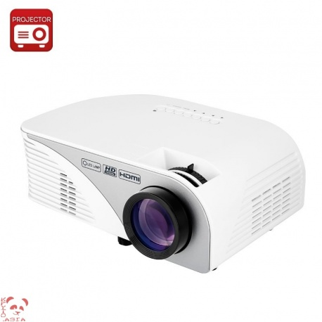 LCD проектор 1200 люмен, 15000:1, HDMI, VGA, AV, USB