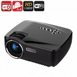 LCD проектор 1200 люмен, Андроид, 2х HDMI, VGA, AV, USB, SD, ТВ