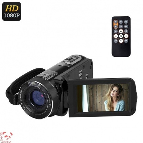 Видеокамера Ordro Z8 PLUS, 1080p, 16x zoom, 1/4' 8Мп сенсор
