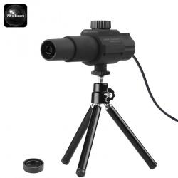 Цифровой телескоп 70х , 2Мп камера, функция записи по движению, трипод