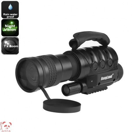 Монокуляр с ночным видением 7х оптический зум, встроенная камера, карта SD, CCD сенсор