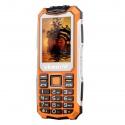 Защищённый телефон VKworld Stone V3S IP65, dual GSM SIM, FM радио, фонарик (оранжевый)
