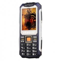 Защищённый телефон VKworld Stone V3S IP65, dual GSM SIM, FM радио, фонарик (синий)