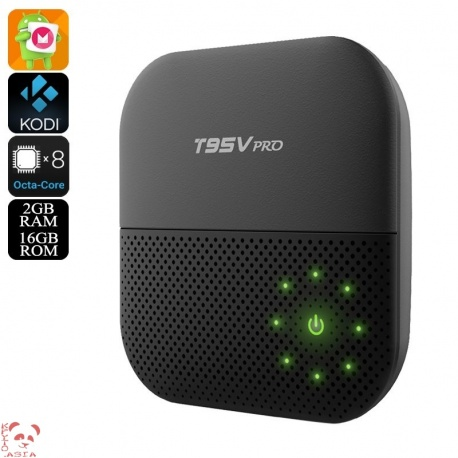 ТВ-приставка Sunvell T95V Pro S912 Андроид 6.0, 4K, 2Гб/16Гб, Kodi V16.1