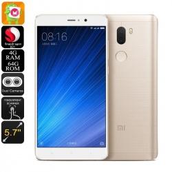 Xiaomi Mi 5S Plus 5.7' экран, Андроид 6.0, 4G, Snapdragon CPU, 4Гб (золото)