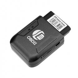 Автомобильный GPS трекер в OBDII разъём, слот для GSM карты