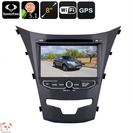 Медиацентр 2Din для Ssangyong Korando, экран 7', GPS, Андроид, CAN BUS