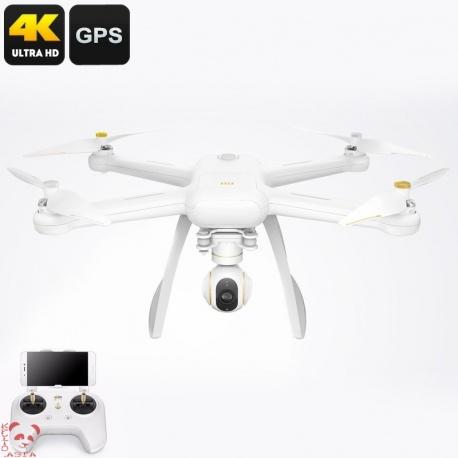 Xiaomi Mi Drone 4К камера, GPS + Glonass, диапазон до 500м и 27 минут полёта