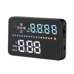 Проекционный дисплей авто HUD A3, экран 3.5', разъём OBD II