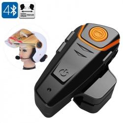 BT-S2 переговорная гарнитура на шлем до 1000м, FM, Bluetooth