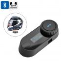 TCOM-SC переговорная гарнитура на шлем до 1000м, FM, Bluetooth