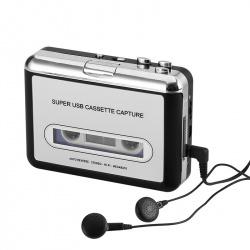 Кассетный плеер и конвертер кассет в MP3, Audacity Software в комплекте
