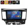 Медиацентр 2Din для Mitsubishi Lancer, экран 10.2', GPS, Андроид, CAN BUS