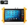 Тестер видеокамер универсальный аналог/цифра, ONVIF, Wi-Fi, 7' сенсорный экран