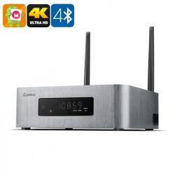 ТВ-приставка ZIDOO X10 Андроид, HDMI-in, 4K ТВ, Realtek RTD 1295, Dual WiFi, SATA