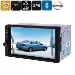 Медиацентр 2Din для моделей Nissan 2003-2017, экран 7', GPS, Андроид 6.0, CAN BUS