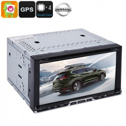 Медиацентр 2Din универсальный для моделей Nissan, экран 6,95', GPS, Андроид, CAN BUS