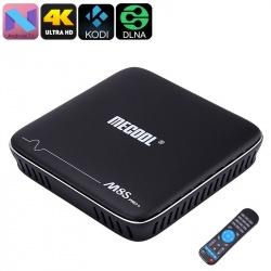 ТВ-приставка Mecool M8S Pro, 4K, Андроид 7.1, 2Гб ОЗУ, DLNA, Airplay, Miracast