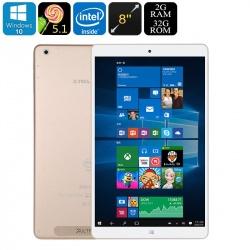 Планшет Teclast X80 Power, экран 8' HD IPS, Win 10 + Android 5.1, 2Гб / 32Гб, HDMI