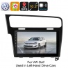 Медиацентр 1Din для VW Golf, экран 10.2', GPS, Андроид, CAN BUS, Bluetooth, Wi-Fi, 3G