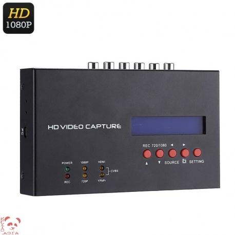 Устройство видеозахвата EZCAP, HDMI, YPbPR, CVBS, Audio, Mic, запись с PC и приставок