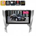 Медиацентр 2Din для моделей Toyota Camry, экран 10.2', GPS, Андроид 6.0, CAN BUS