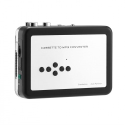 Кассетный плеер плюс конвертер кассет в MP3, 2x AA батареи
